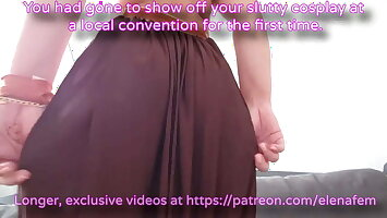 Sissy Caption - It's not gay if you dress up like a girl